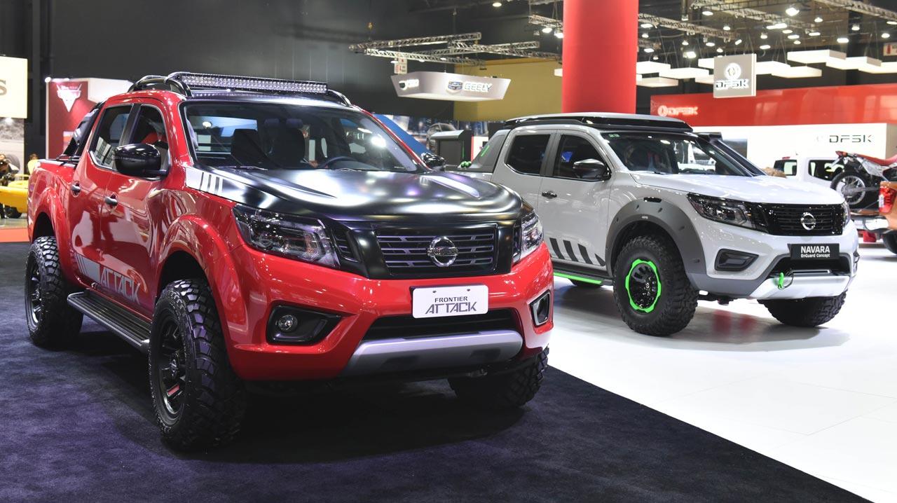 Nissan EnGuard y Frontier Attack