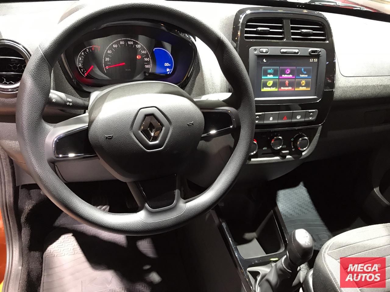Interior full Renault Kwid