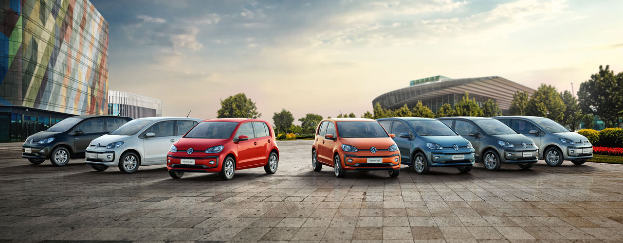 Gama Volkswagen Up! 2018