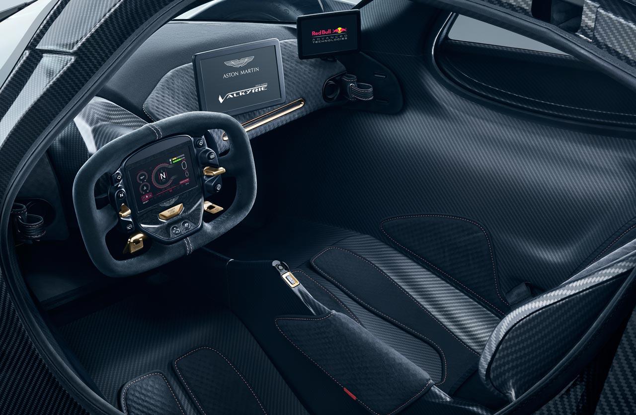 Interior Aston Martin Valkyrie