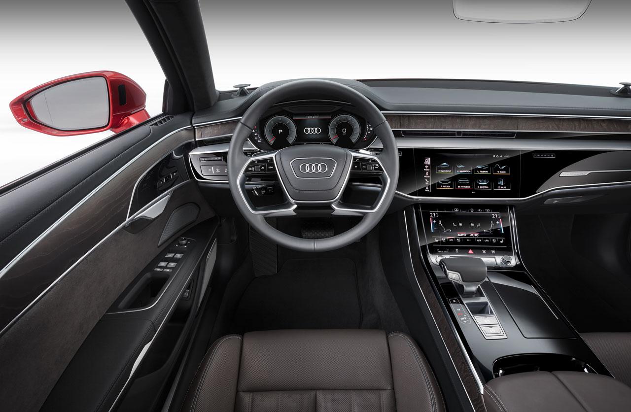 Interior Audi A8 2018