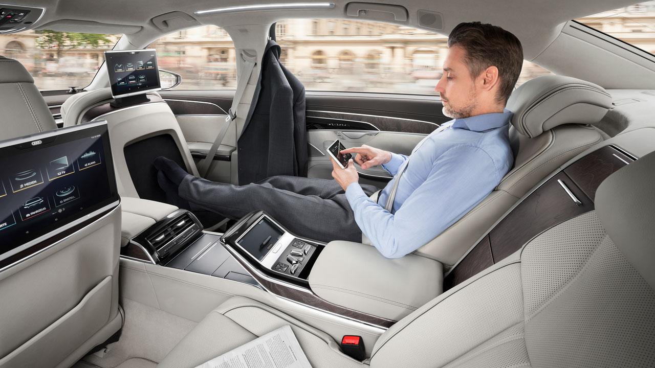 Interior Audi A8 L 2018