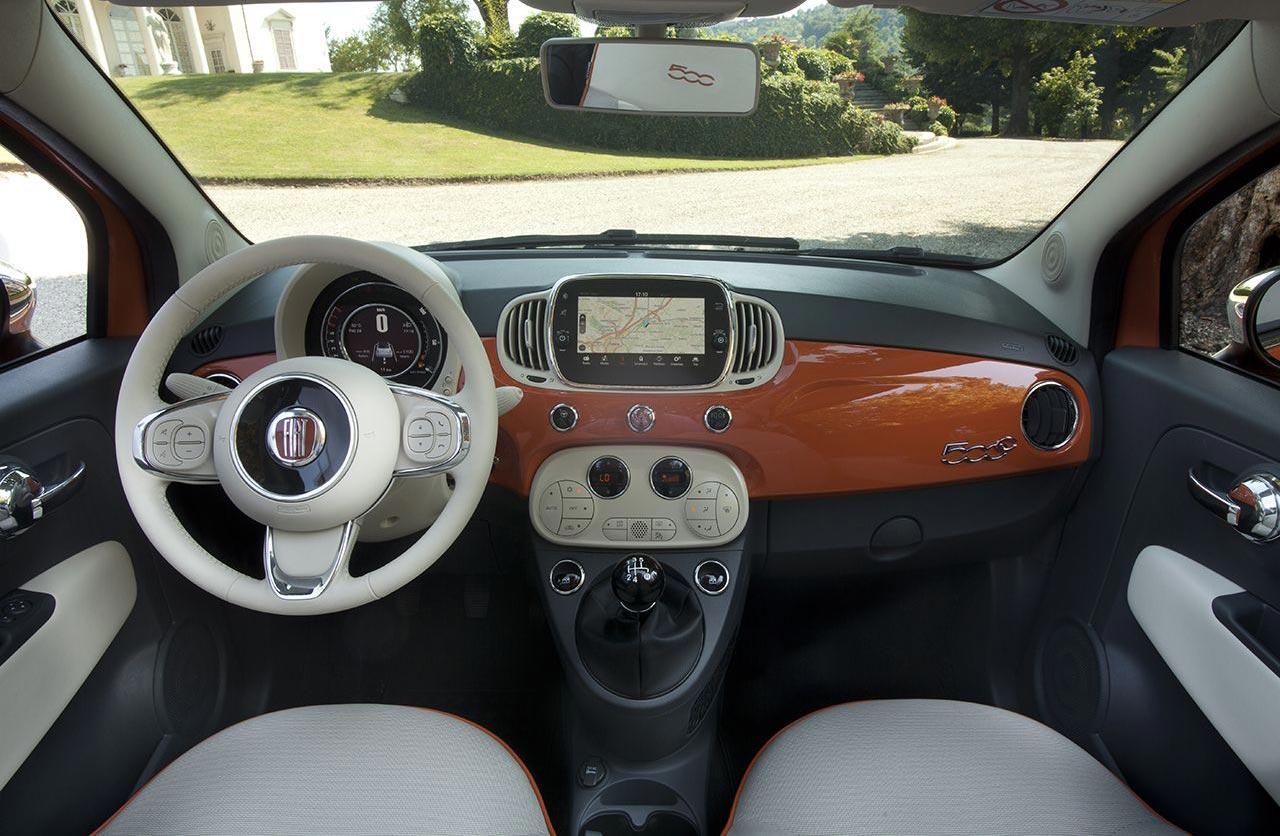 Interior Fiat 500 Aniversario