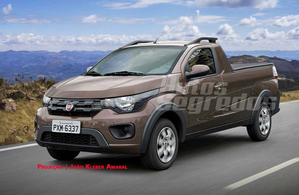 Fiat produciría la pick up del Mobi