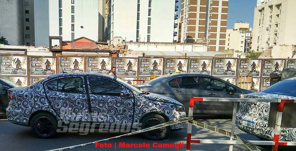 Fiat X6S espía Autos Segredos