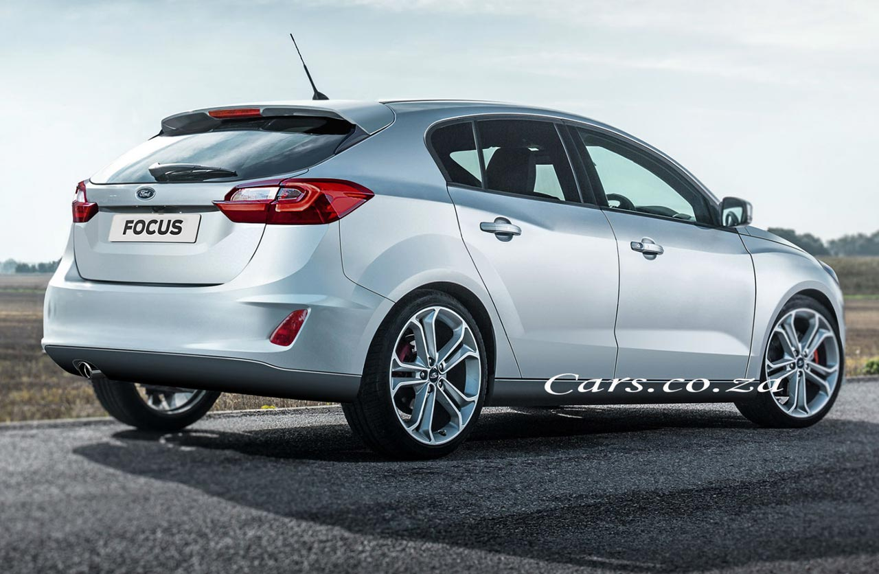 Ford Focus 2018 hatchback render
