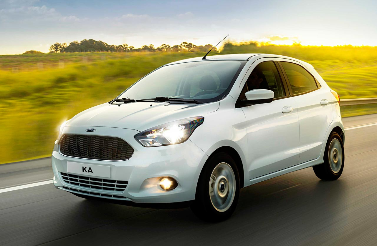 ¿Rediseño para el Ford Ka brasileño?