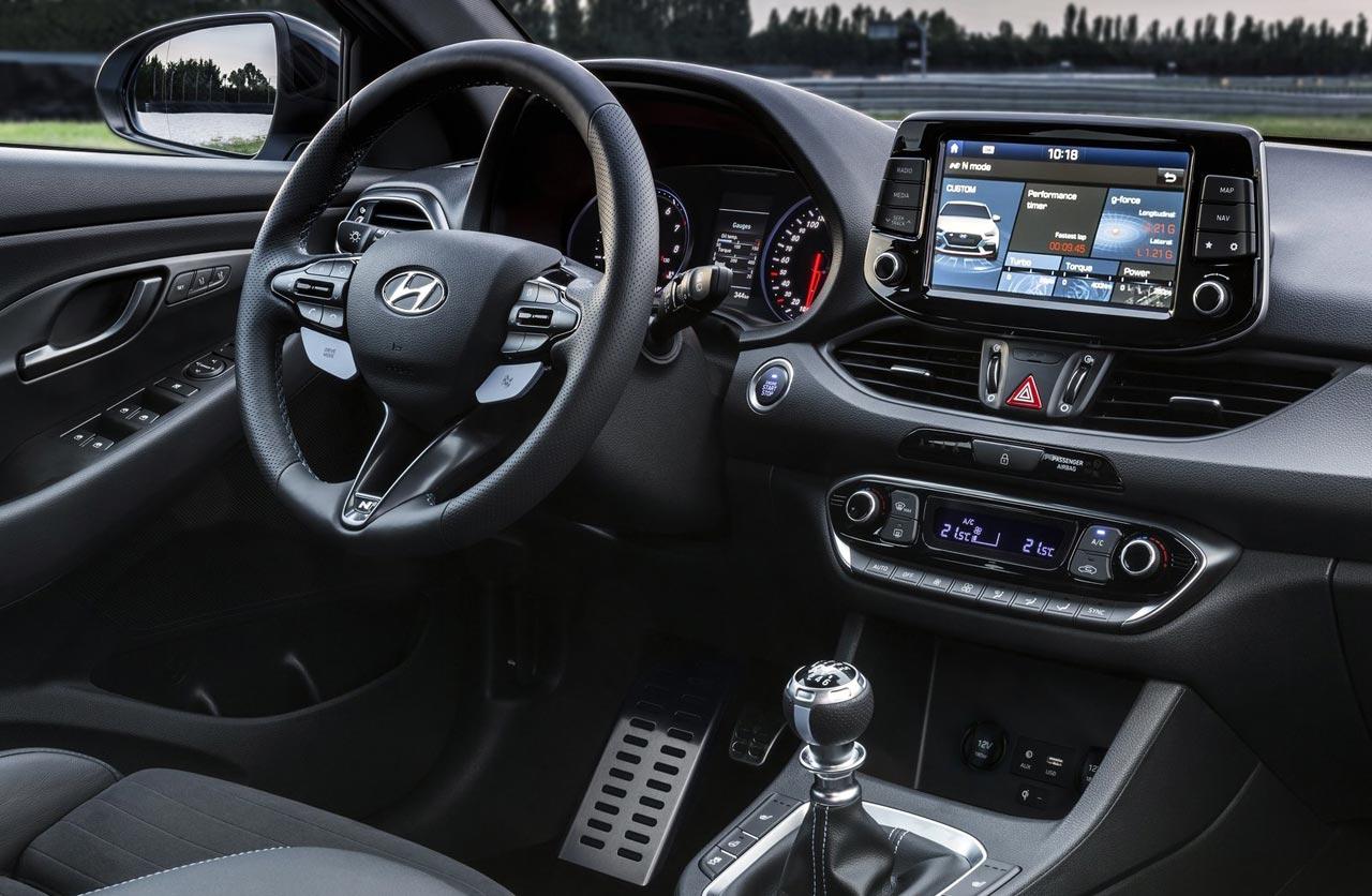 Interior Hyundai i30 N