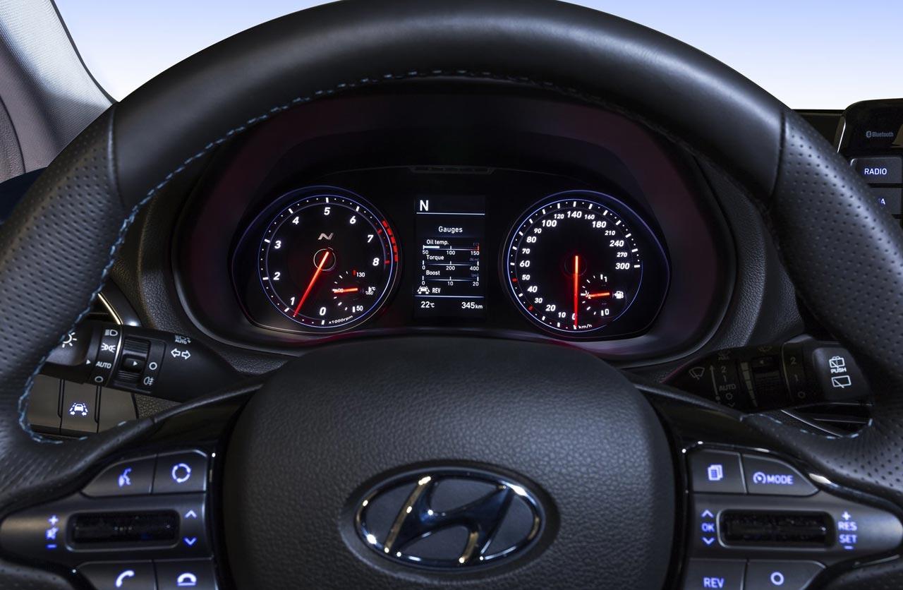Tablero Hyundai i30 N