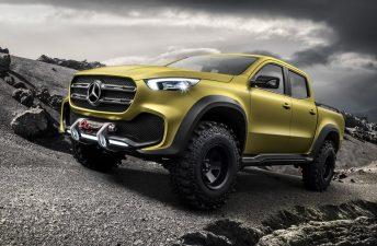 Mercedes-Benz comienza a mostrar la Clase X definitiva