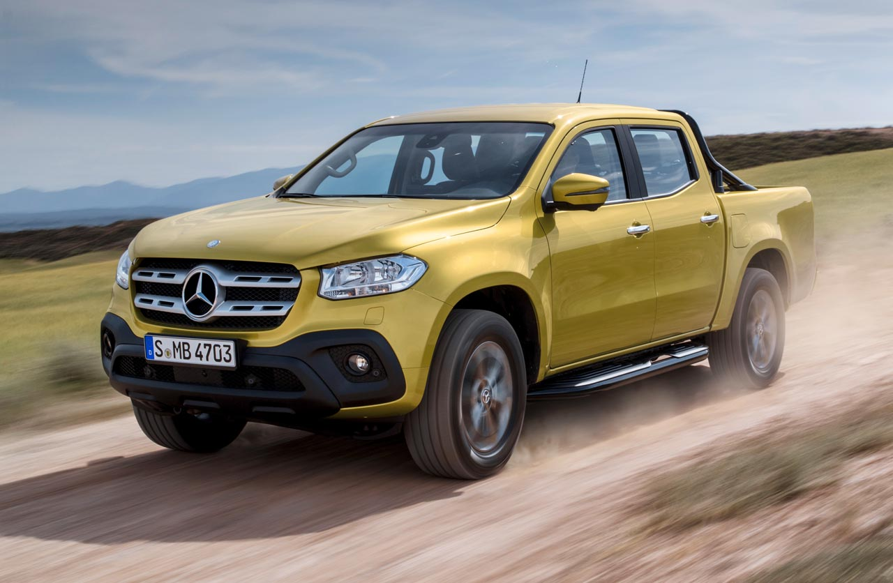 Clase X: esta es la pick up definitiva de Mercedes