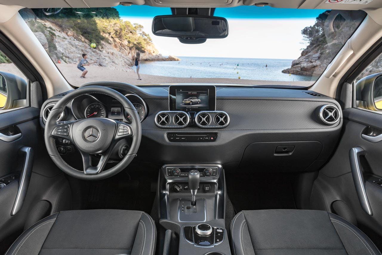 Interior Mercedes-Benz Clase X