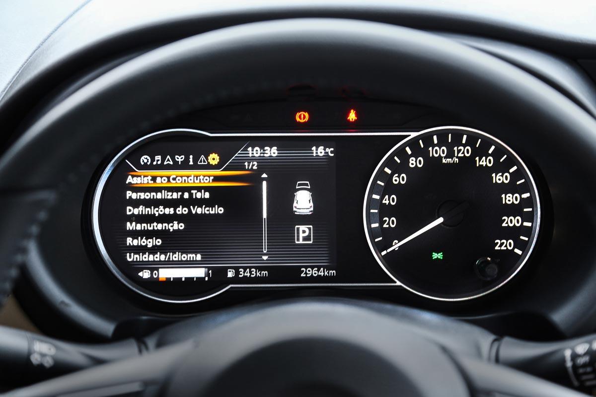 Interior Nissan Kicks Brasil