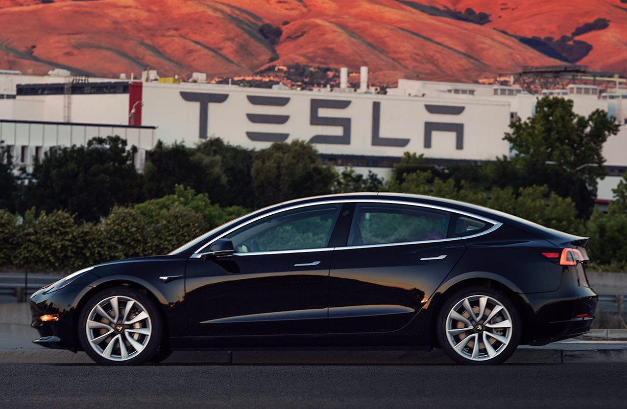 Tesla Model 3 producción