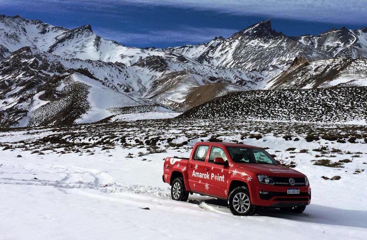 Volkswagen pasa el invierno en Las Leñas