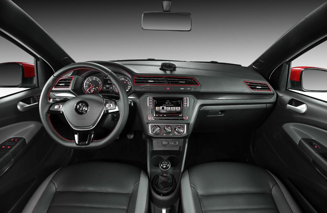 Interior Volkswagen Saveiro Pepper