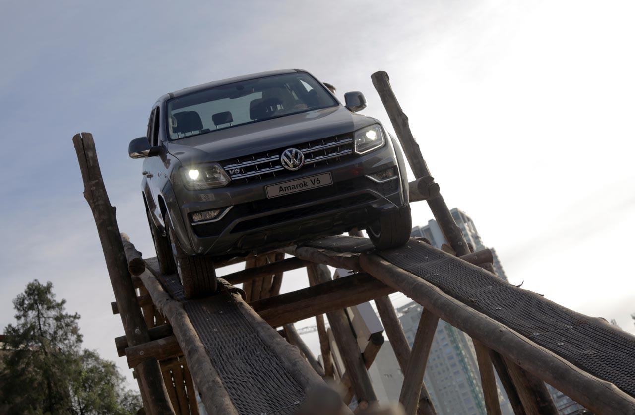 Volkswagen Amarok en La Rural