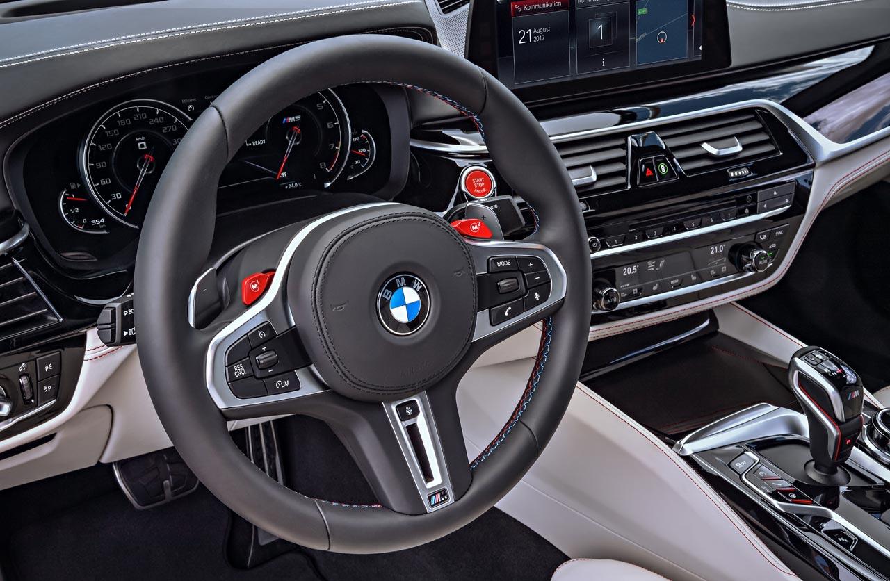 Interior BMW M5 First Edition