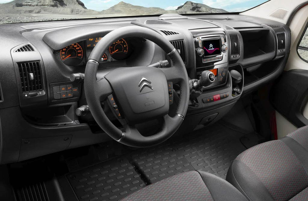 Interior Citroën Jumper