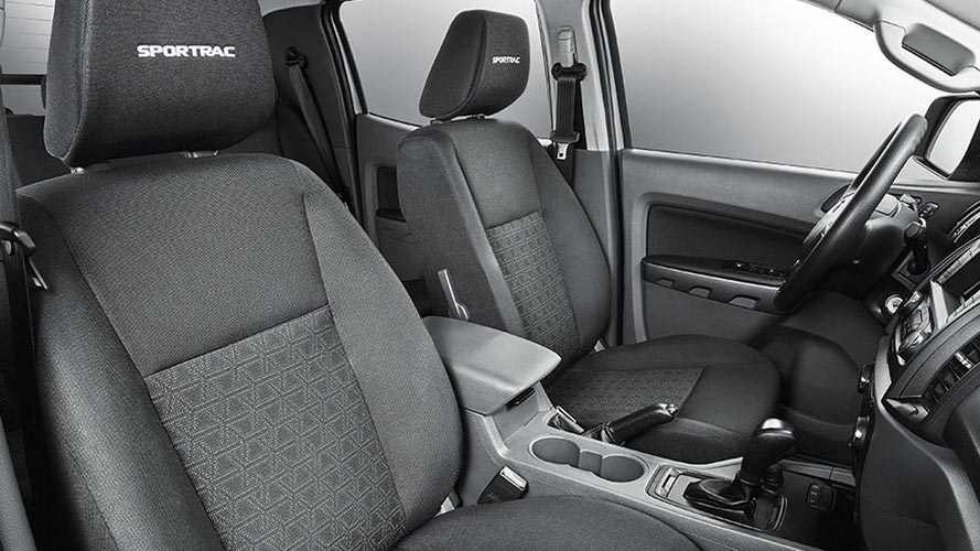 Interior Ford Ranger Sportrac