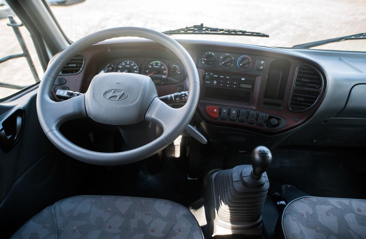 Interior Hyundai HD65 Doble Cabina