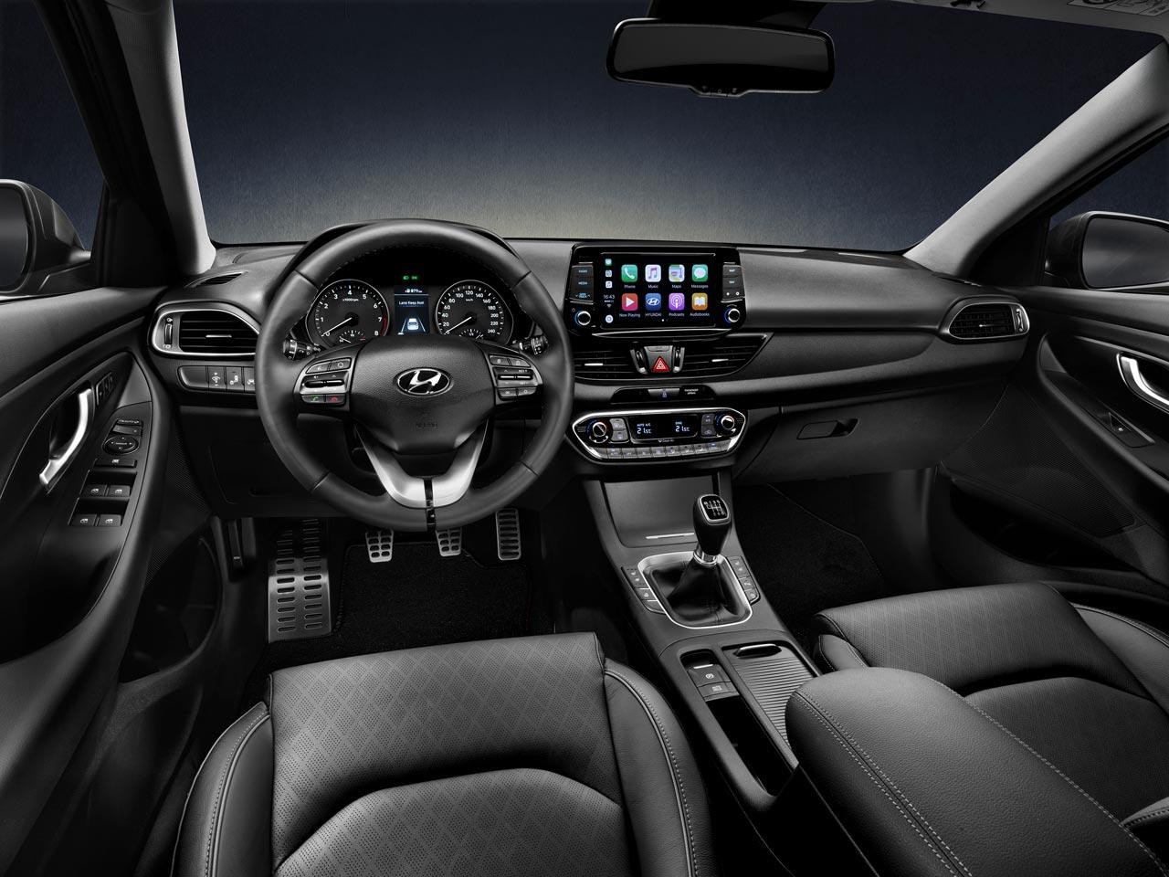Interior Hyundai i30 Fastback