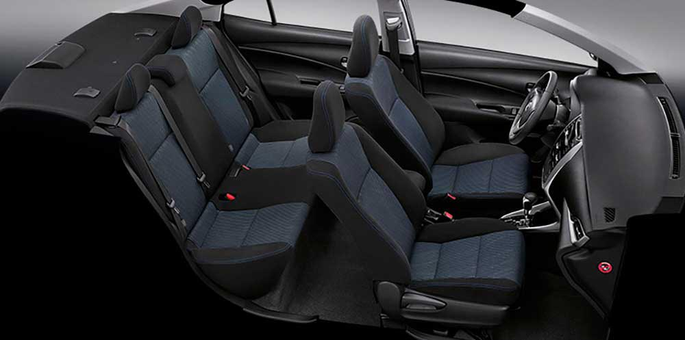 Interior Toyota Yaris Ativ