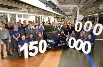 Volkswagen alcanzó la producción de 150 millones de vehículos en el mundo