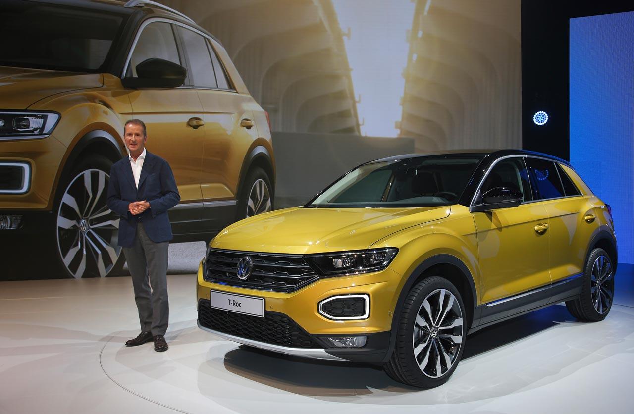 Presentación Volkswagen T-Roc