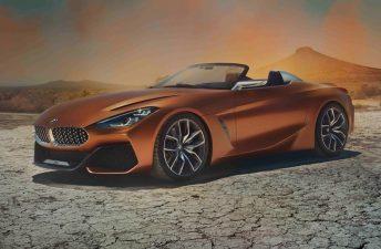Concept Z4: anticipo del próximo roadster de BMW
