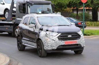 Ford prepara una EcoSport con estética deportiva