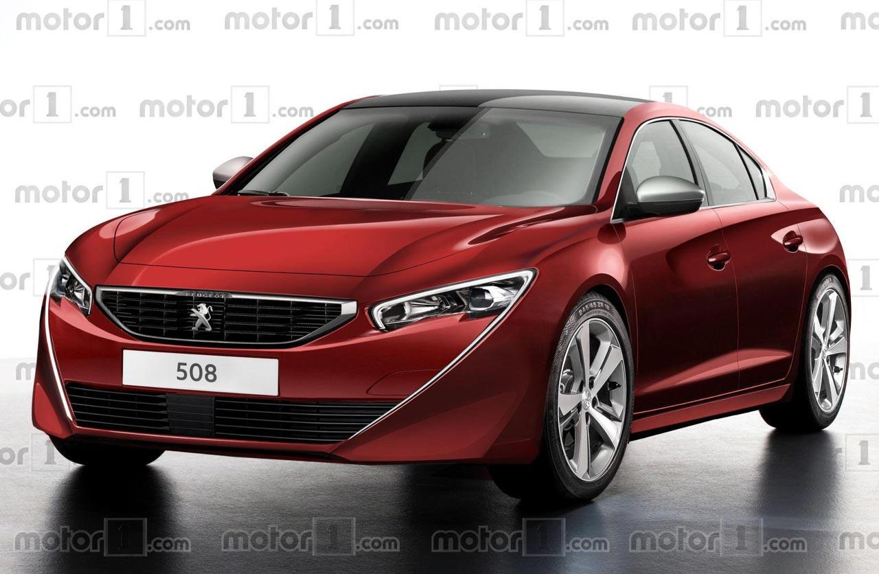 Imaginan cómo será el nuevo Peugeot 508