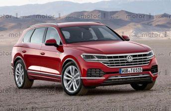 Se viene la nueva generación de la Volkswagen Touareg