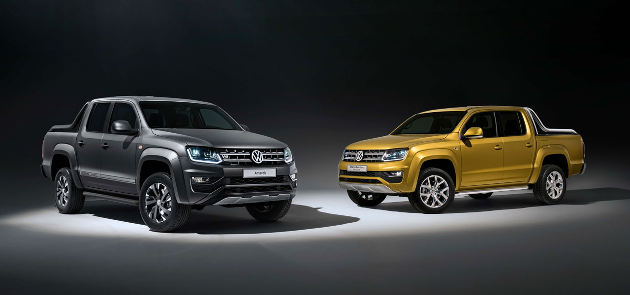 Amarok V6 Aventura Excusive y Dark Label V6