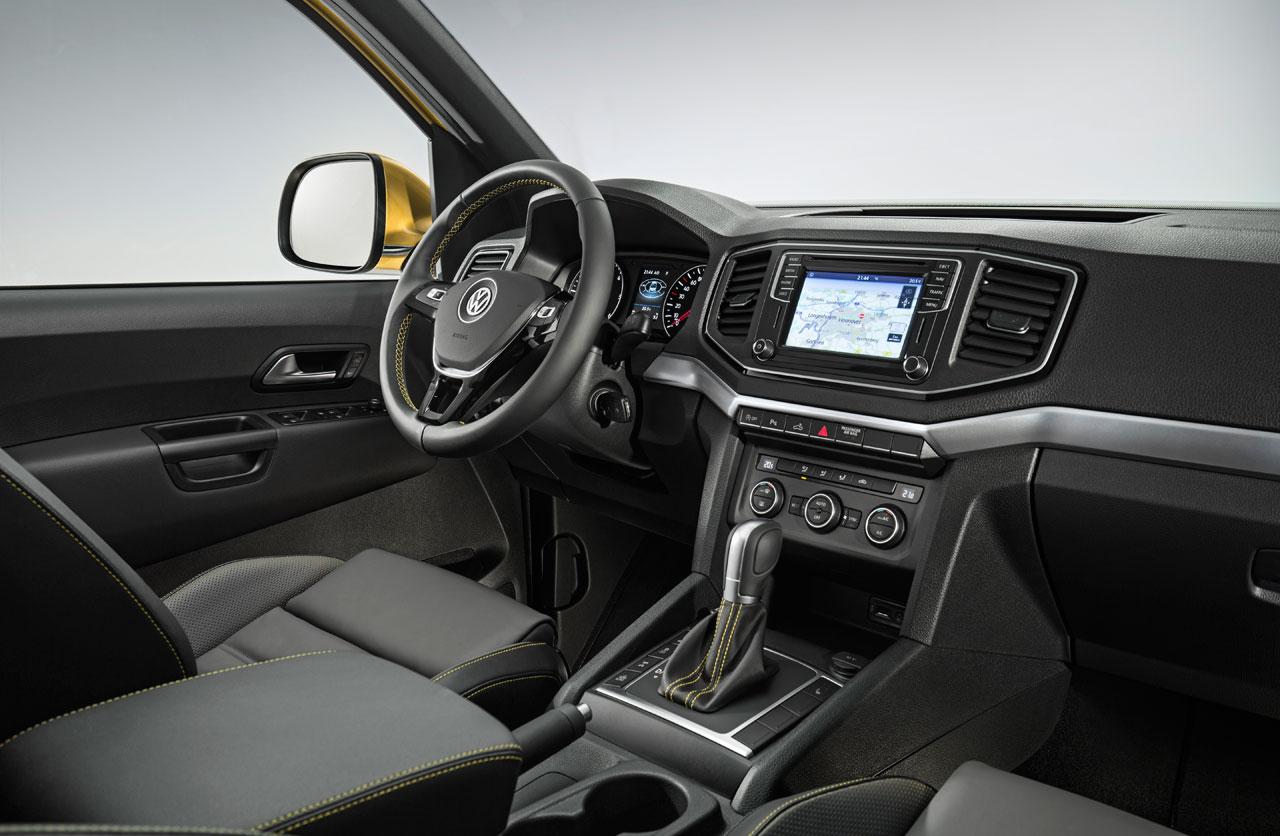 Interior VW Amarok Aventura Excusive