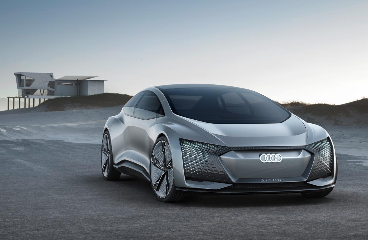 Elaine y Aicon, los prototipos eléctricos y autónomos de Audi