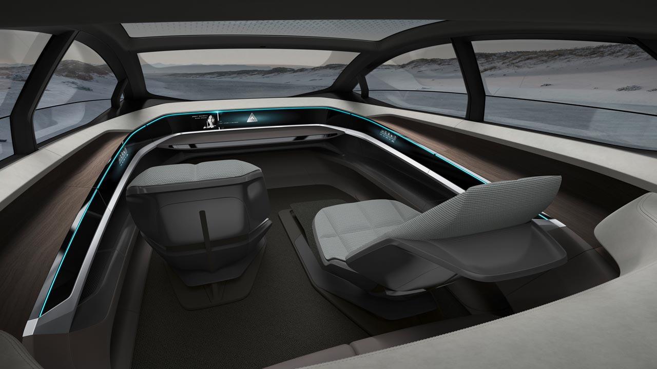 Interior Audi Aicon