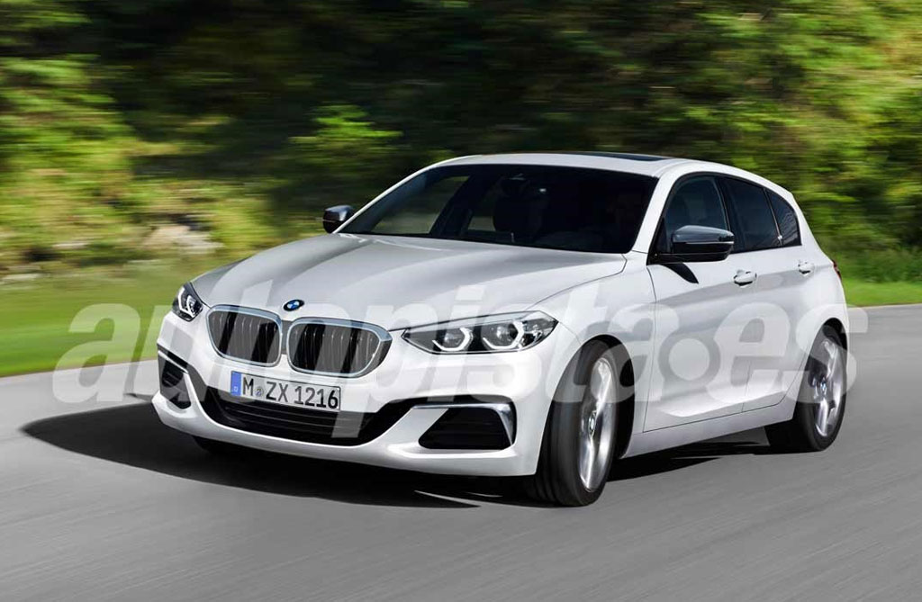 ¿Será así el próximo BMW Serie 1?