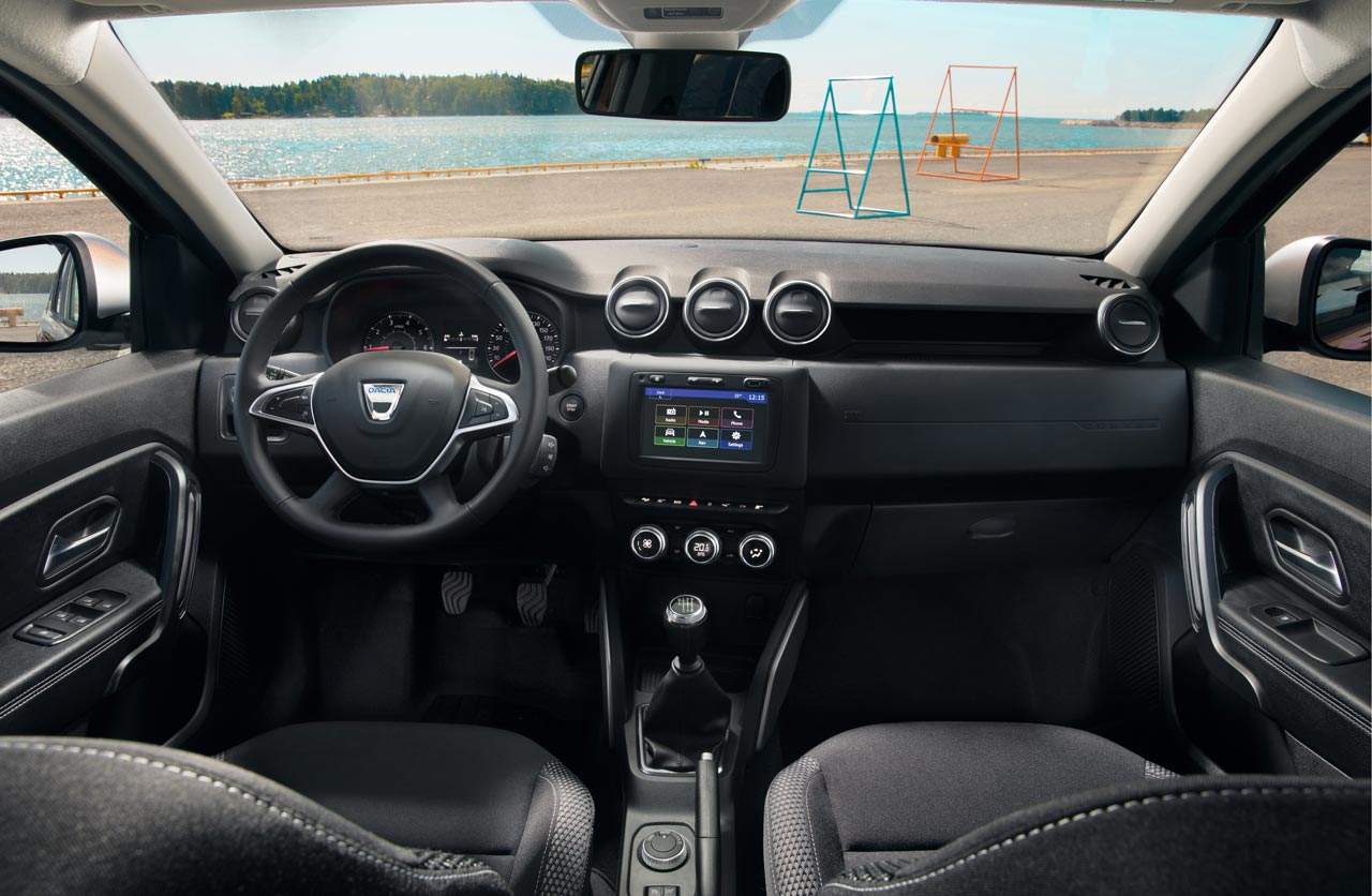 Interior Dacia Duster 2018