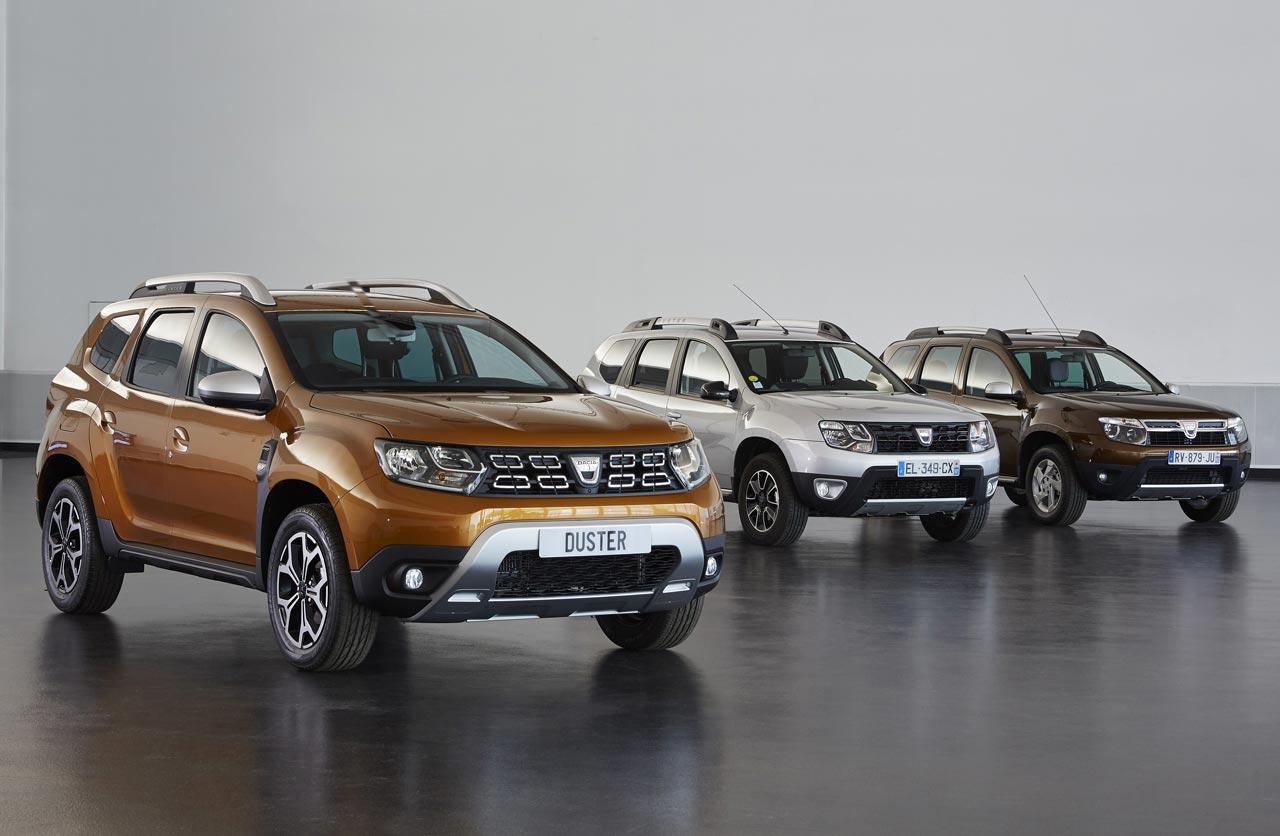Generaciones Dacia Duster
