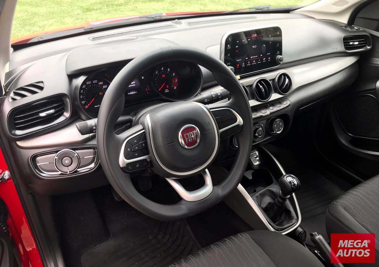 Interior Fiat Argo