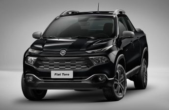 Antes que en Argentina: la Fiat Toro Blackjack debutó en Brasil