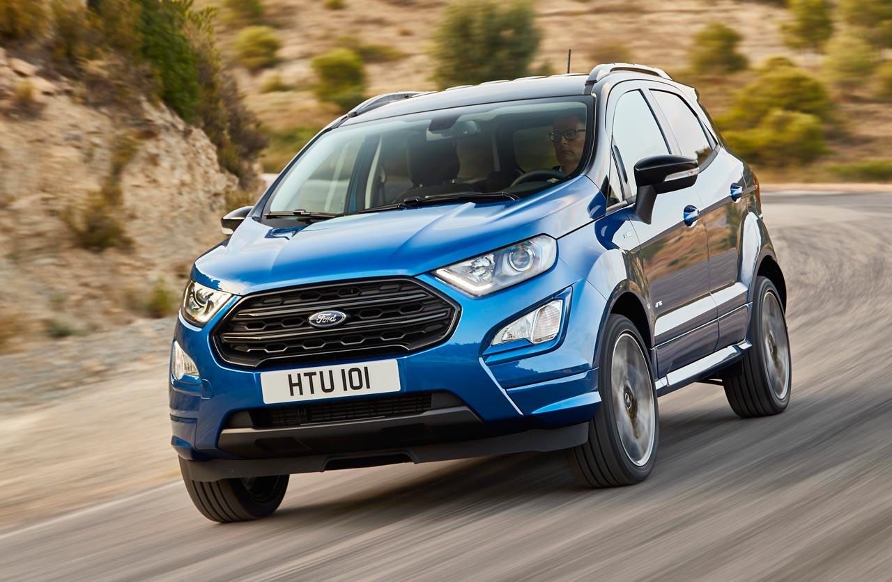 """La Ford EcoSport sumó una versión """"deportiva"""""""