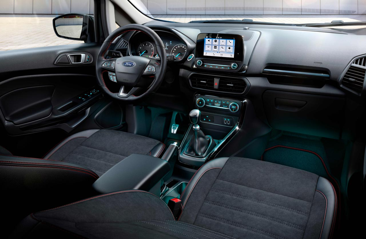 Interior Ford EcoSport ST Line