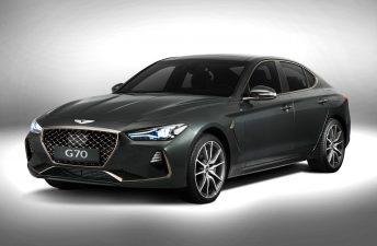 Genesis G70, el nuevo sedán premium de Hyundai