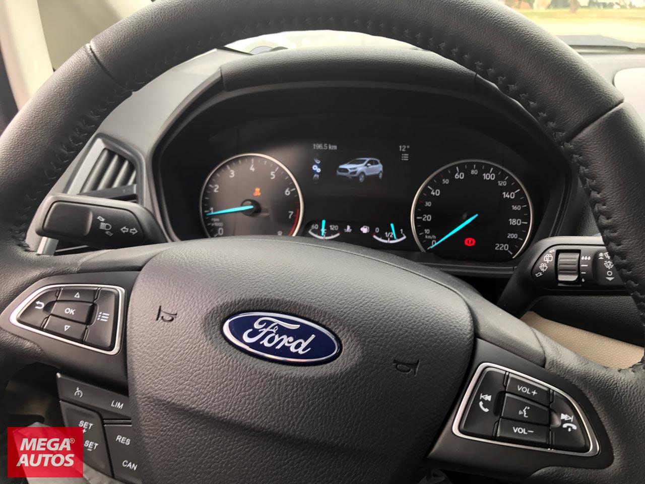 Interior Nueva Ford EcoSport