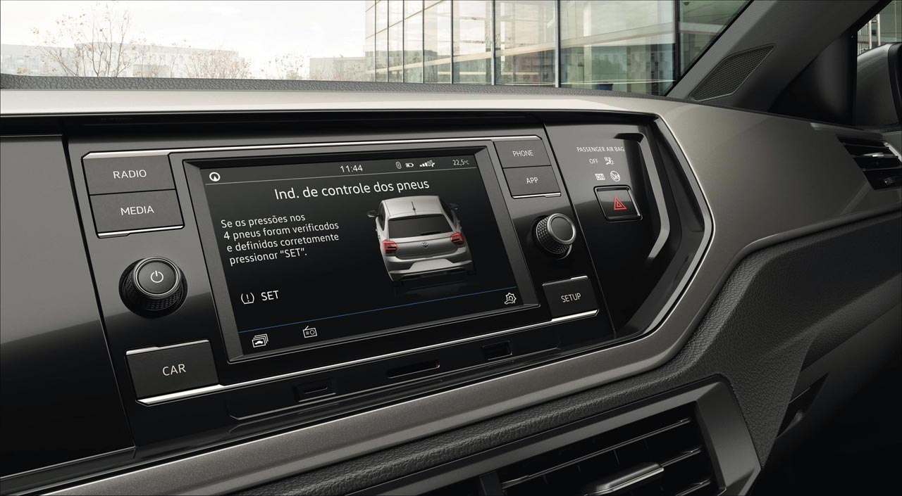 radio Composition touch VW Polo