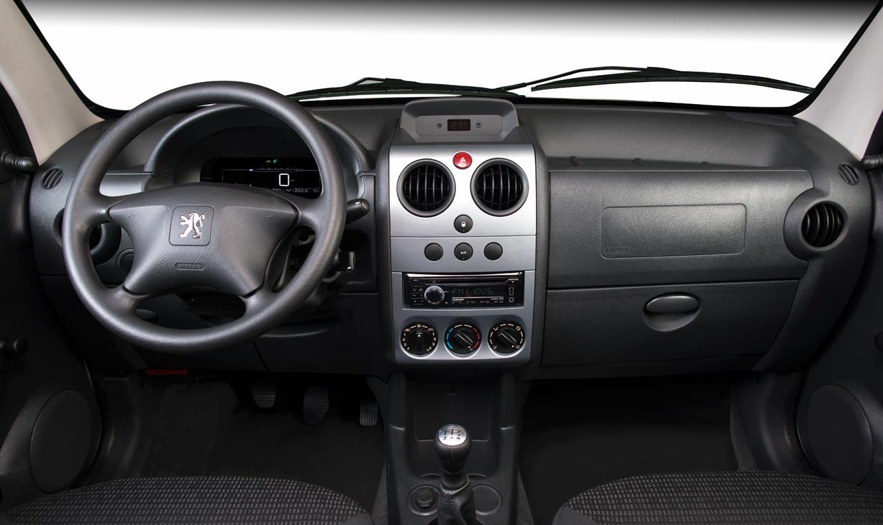 Interior Peugeot Partner Furgón