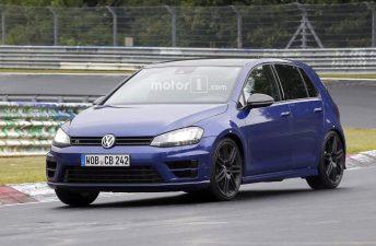 ¿Volkswagen prueba el Golf más potente?