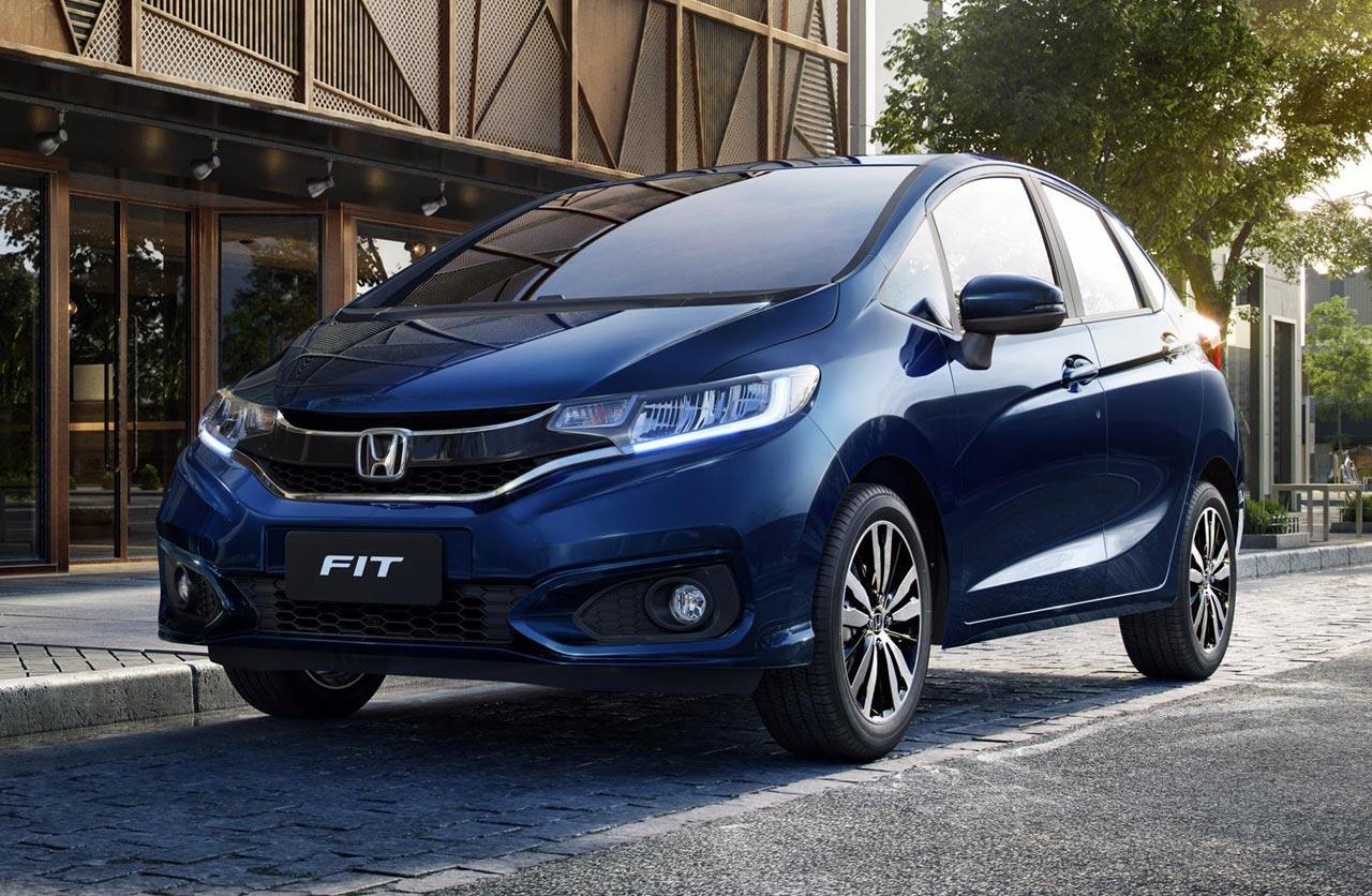 Honda renovó el Fit en Brasil